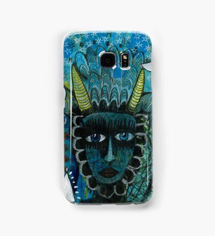 GOLDEN HORNED BEASTIE Samsung Galaxy Case/Skin