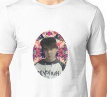 LeafyIsHere - Flower background Unisex T-Shirt
