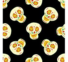 Funny  mexican sugar skulls Photographic Print