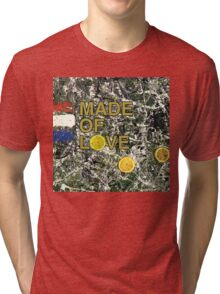 Stone Roses Made Of Stone Tri-blend T-Shirt