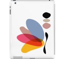 Modern Abstract Colorful Butterfly Illustration iPad Case/Skin