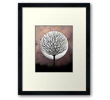 Mother Moon Framed Print