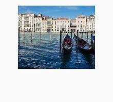 Venice, Italy - Traditional Venetian Gondolas on the Grand Canal Unisex T-Shirt