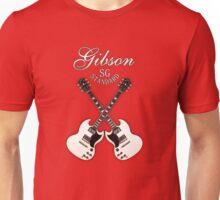 White Gibson SG  Unisex T-Shirt
