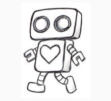 Love Robot One Piece - Short Sleeve