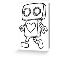 Love Robot Greeting Card