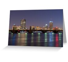 Boston Reflections Greeting Card