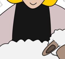Star-eyed shepherd - Csillagszemű juhász  Sticker