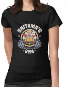 Saitama Gym Womens Fitted T-Shirt