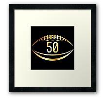 Denver Broncos Super Bowl Framed Print
