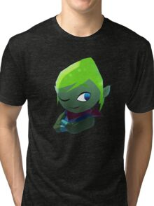 LeafyIsHere Profile picture (WITHOUT TEXT) Tri-blend T-Shirt