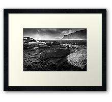 Just the sound of waves Framed Print