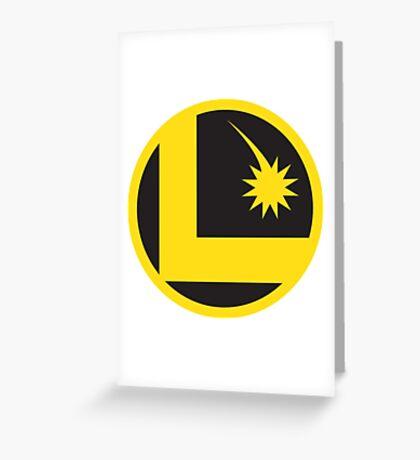 Legion of Super-Heroes Greeting Card