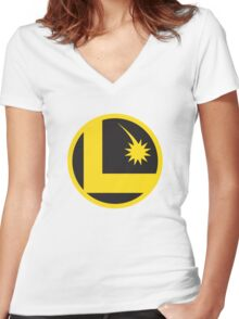 Legion of Super-Heroes Women's Fitted V-Neck T-Shirt
