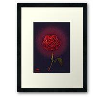 The Enchanted Rose Framed Print