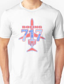 Red and Blue 717 Unisex T-Shirt