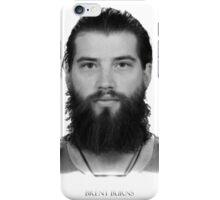 Brent Burns iPhone Case/Skin