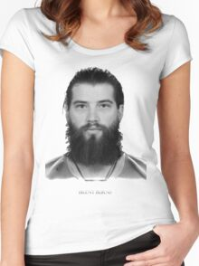 Brent Burns Women's Fitted Scoop T-Shirt