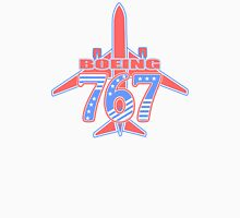 Red and Blue 767 Unisex T-Shirt