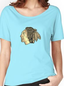 Chicago BlackHawks Cool logo Women's Relaxed Fit T-Shirt