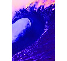 Abstract Wave Photographic Print