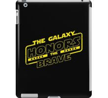 The Galaxy Honors the Brave  iPad Case/Skin
