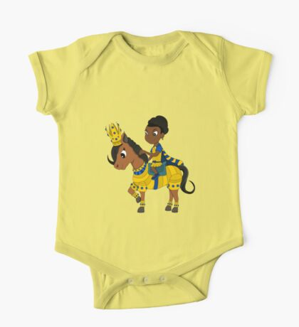 Princess and pony cartoon One Piece - Short Sleeve