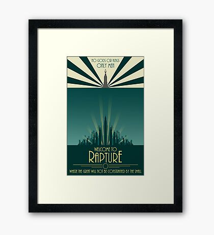 Bioshock Art #1 Framed Print