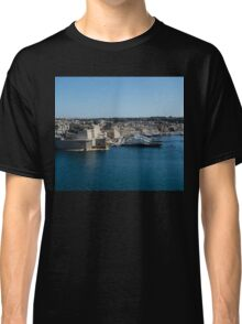 Postcard from Malta - Grand Harbour Superyachts Classic T-Shirt