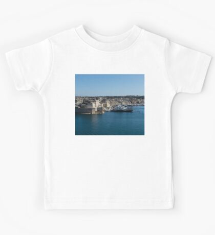 Postcard from Malta - Grand Harbour Superyachts Kids Tee