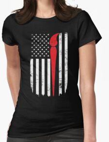 Artist Painter Flag Day Memorial T-shirt Womens Fitted T-Shirt