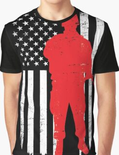 Army Soldier Flag Day Memorial T-shirt Graphic T-Shirt