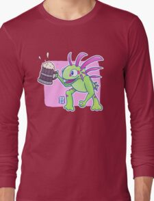 Beer Loving Murloc Long Sleeve T-Shirt