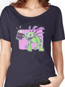 Beer Loving Murloc Women's Relaxed Fit T-Shirt