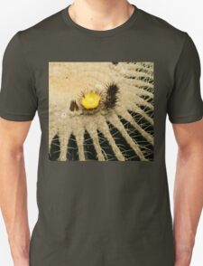 Fascinating Cactus Bloom - Soft and Fragile Among the Thorns Unisex T-Shirt