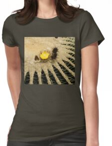 Fascinating Cactus Bloom - Soft and Fragile Among the Thorns Womens Fitted T-Shirt