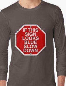 A physics joke. Long Sleeve T-Shirt