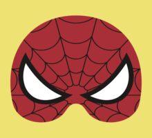 super hero mask (spider man) One Piece - Short Sleeve