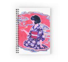 Magnolias and Smoke Spiral Notebook