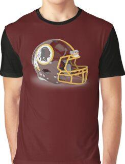 Redskins Helmet Graphic T-Shirt