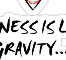 Gravity (BLACK) Sticker