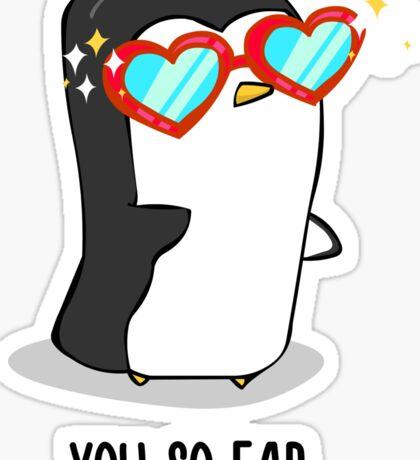 Fabulous Penguin! Sticker