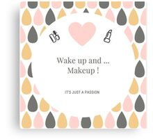 Makeup Canvas Print