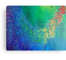 Flowing Fantasy Fish Canvas Print