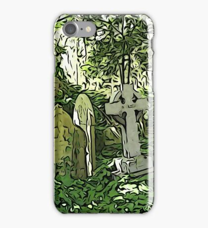 Highgate Cemetery London iPhone Case/Skin