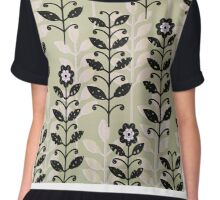 Amongst the Weeds Chiffon Top