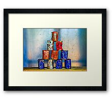 Soup Cans - After The Lunch Framed Print