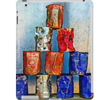 Soup Cans - After The Lunch iPad Case/Skin
