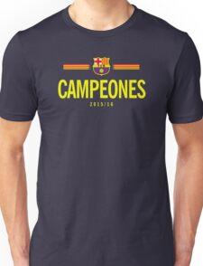 Barcelona Campeones Unisex T-Shirt