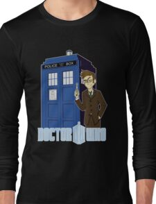 Dr Who Animated (no background) Long Sleeve T-Shirt
